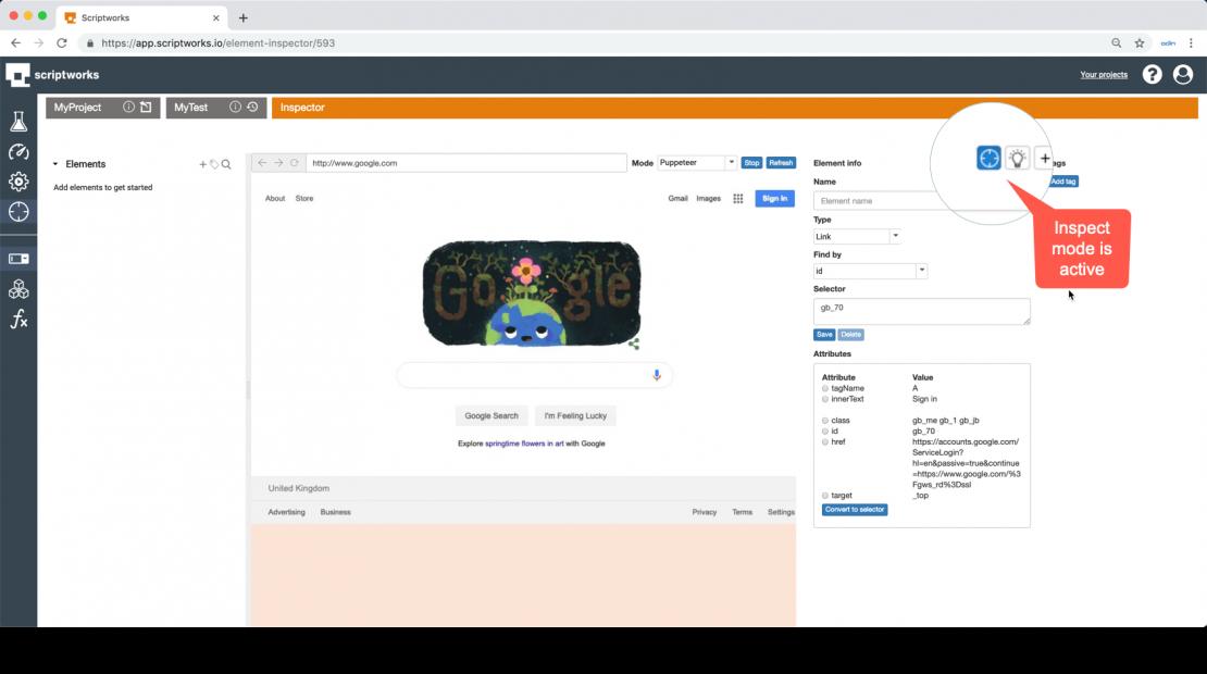 Learning Web Application elements | Scriptworks