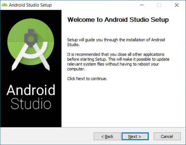 Welcome to Android setup