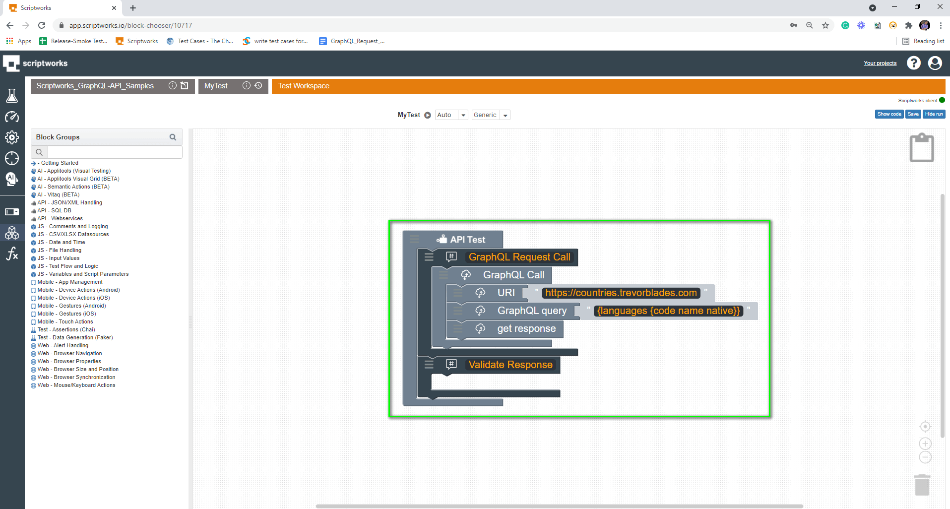 Comments for Validating response inside canvas